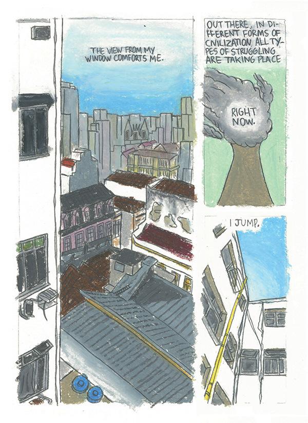 Vidro Embaçado - Página da história Apartments Routine - 2015.