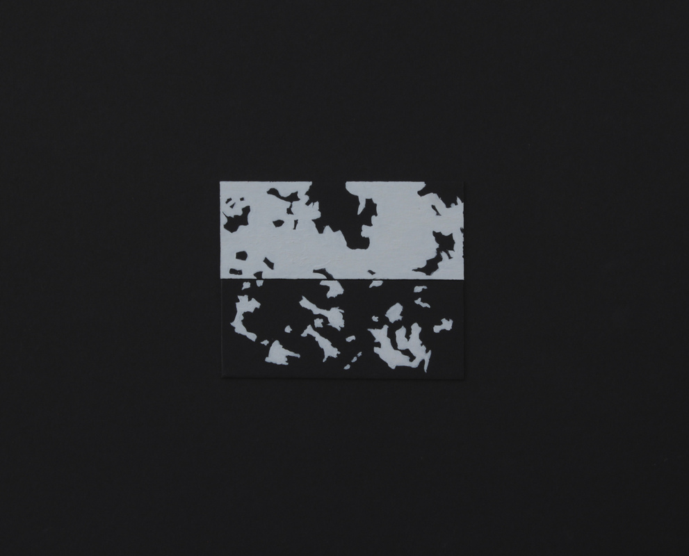 Geraldine Guterman - Tinta sobre papel 30x30cm 2012
