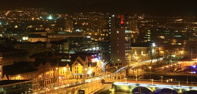 Sean Pinto photoGRAPHY - Belfast at night - IE