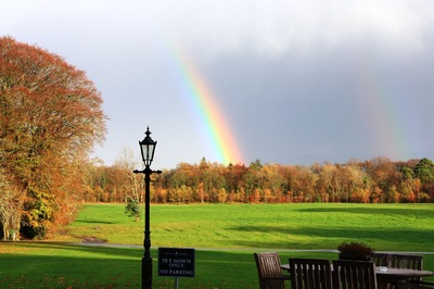Sean Pinto photoGRAPHY - Rainbow Over a Garden, Athy, IE