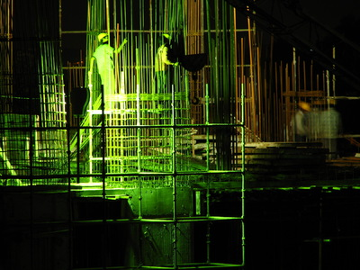 Sean Pinto photoGRAPHY - Construction workers at night