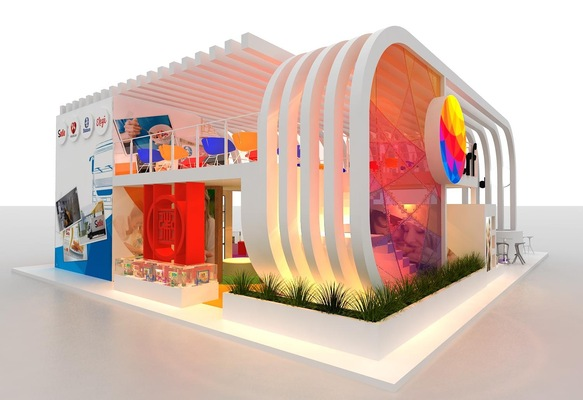 Exhibition Stand Builders France : Exhibition stands esteban nicolas ruales falconi