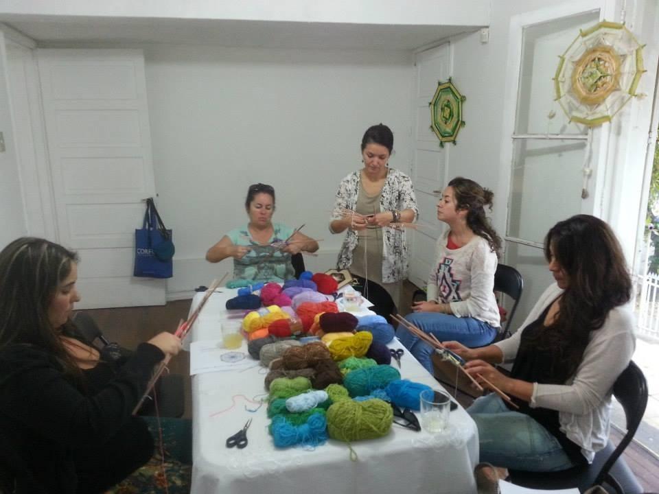 PANAMBI, MANDALAS TEJIDOS - TALLERES EN CHILE Y ARGENTINA