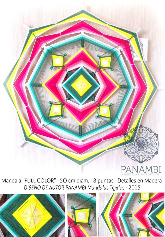 PANAMBI, MANDALAS TEJIDOS - FULL COLOR