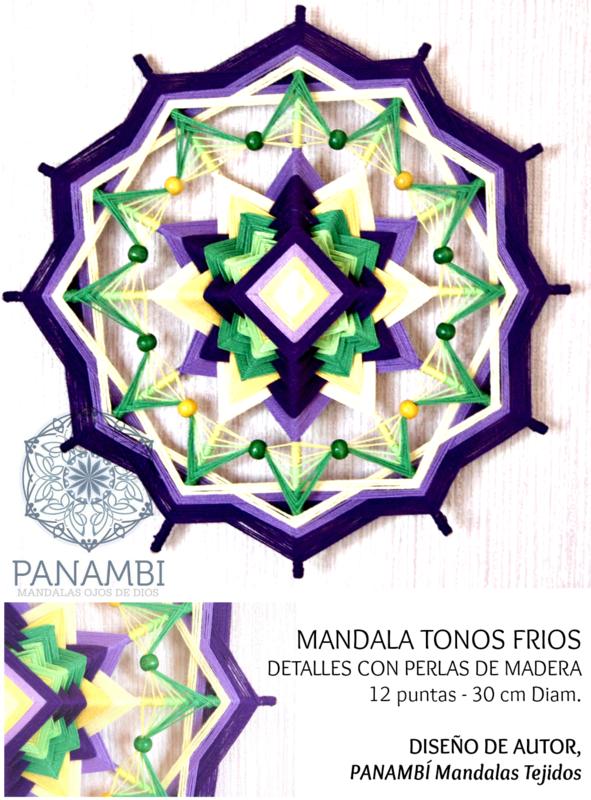 PANAMBI, MANDALAS TEJIDOS -