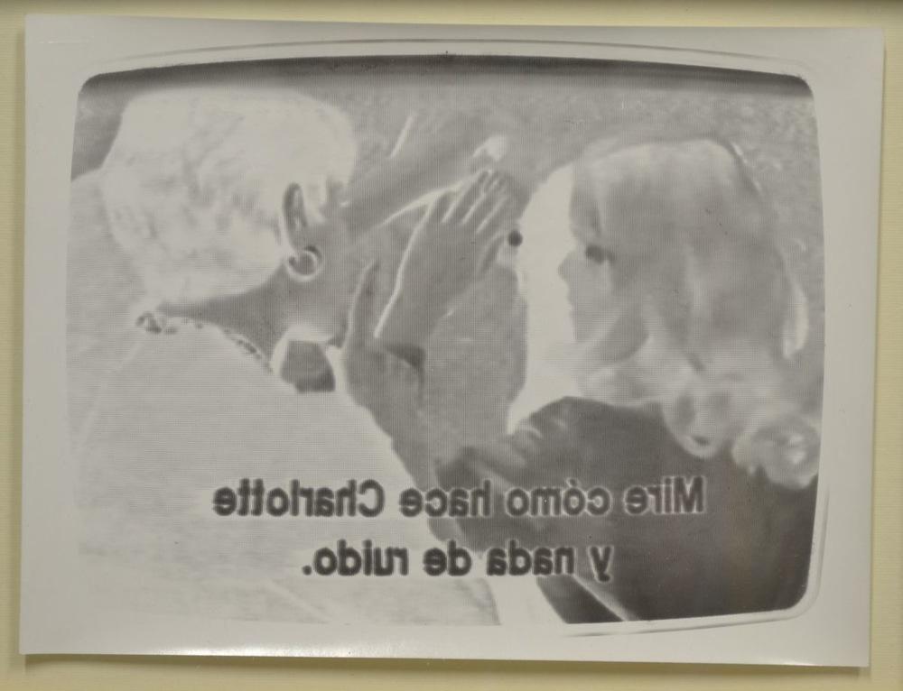 Pedro Wainer - Exposición directa sobre papel de bromuro. 18 x 24 cm. Original, impresión única.