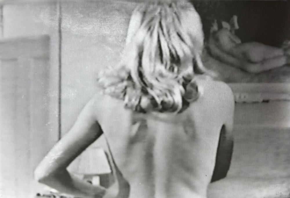 Pedro Wainer - De espaldas 70 x 100 cm. Impresión sobre gelatina de plata, copia única. (2018)