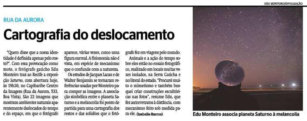 edu monteiro - Diário de Pernambuco