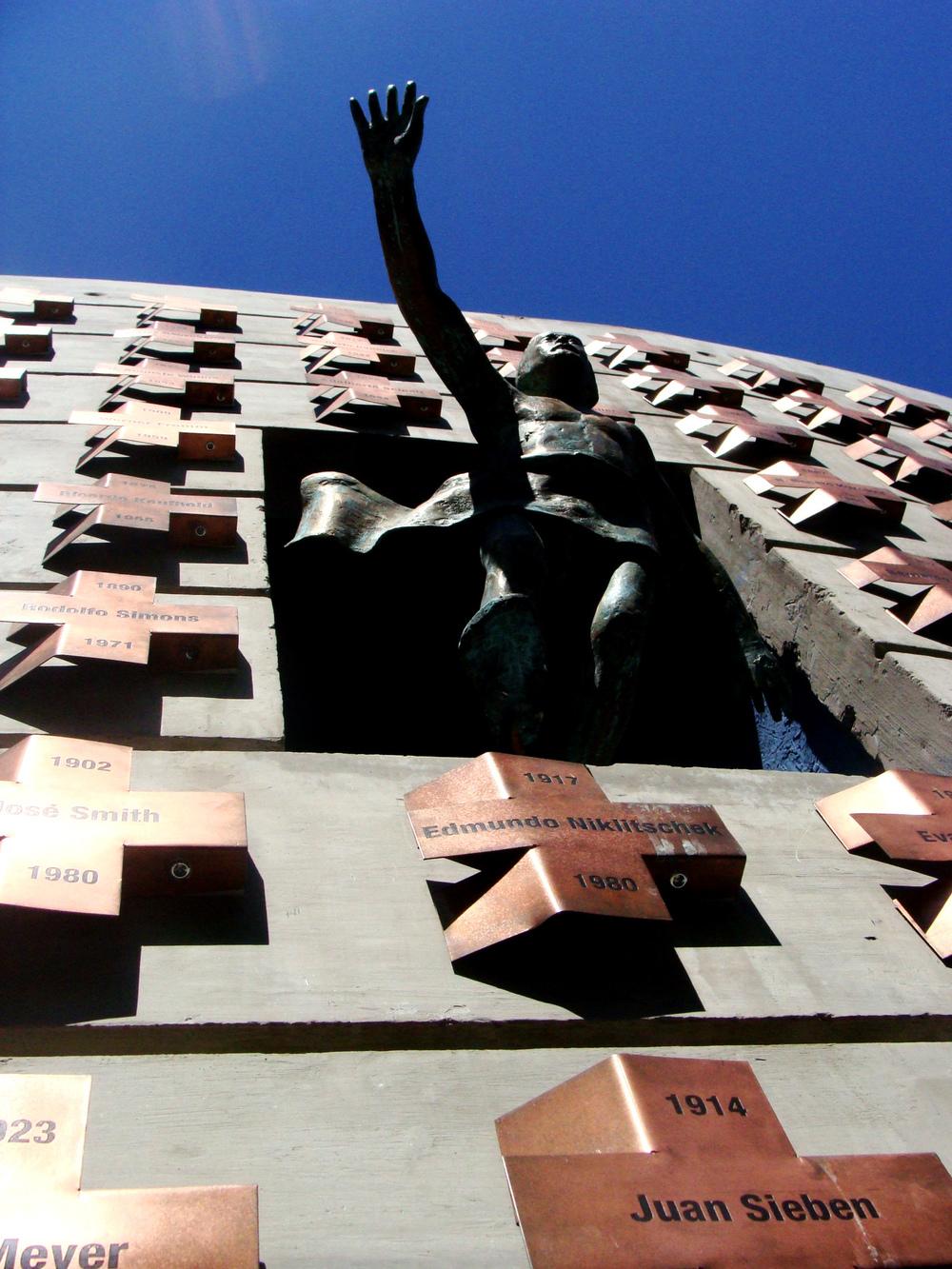 CORPUS AADC - Muro memorial